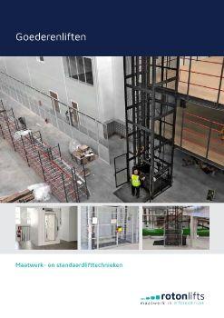 Goederenlift - Snelle levering en installatie in Belgie Nederland Roton