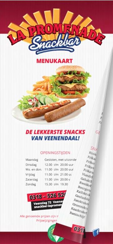 Snackbar Veenendaal paptat frietzaak snack